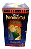 DISNEY'S POCAHONTAS POCAHONTAS & JOHN SMITH Drinking Glass Cup Collectable Colors of The Wind Collection by Pocahontas