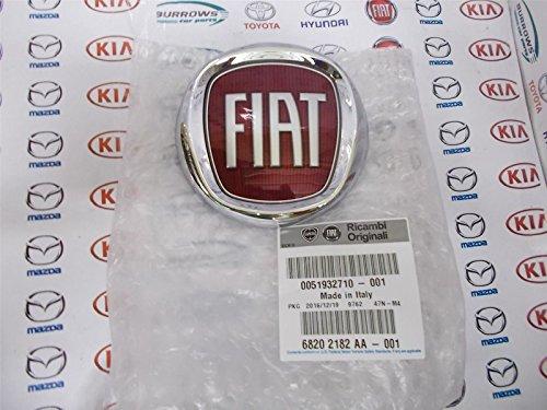 Fiat 51932710 Badge/emblème logo de pare-chocs avant pour Fiat 500