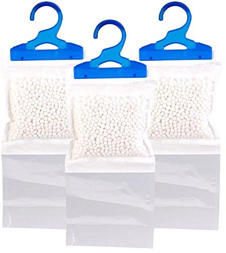 Sichler Haushaltsgeräte Schrank Entfeuchter: 3er-Set XL-Kleiderschrank-Entfeuchter zum Aufhängen, je bis zu 450 ml (Luft-Entfeuchter)