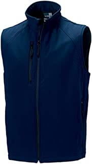 Jerzees Colours Soft Shell Gilet : Color - French Navy : Size - L