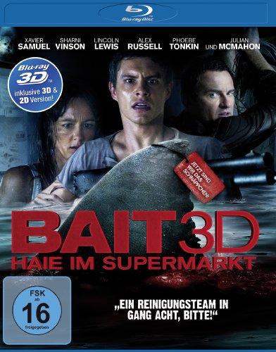 Bait - Haie im Supermarkt  (inkl. 2D-Version) [3D Blu-ray]