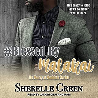#Blessed by Malakai audiobook cover art