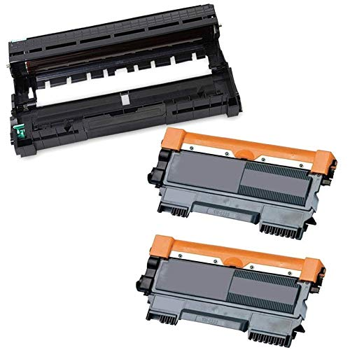 KATRIZ 2 stuks TN-2320 tonercartridge + 1 stuks DR-2300 drum eenheid vervanging compatibel voor Brother L2340DW L2300D L2360DN DCP-L2500D L2540DN L2520DW L2365DW MFC-L2740DW L2720DW L2700DW