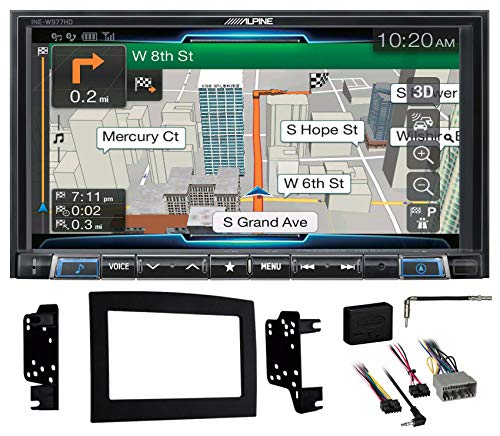 Buy Discount Alpine 7 Bluetooth w/Navigation/GPS/Carplay for 2006-2008 Dodge Ram 1500