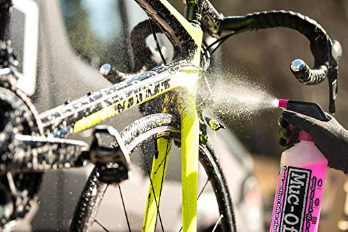 Muc-Off Nano Tech Bike Cleaner 1L - The Original High-Performance, Biodegradable Cleaner for All Types of Bicycle