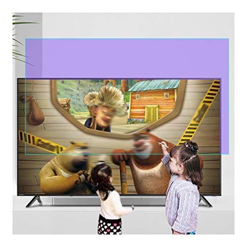 ZWYSL Protector de Pantalla de TV de 27-75 Pulgadas, película antirreflejos de luz Azul/antirreflejo/antiarañazos de hasta 90%, Alivia la Fatiga Ocular, para LCD, LED