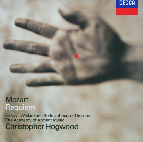 Mozart - Requiem / Kirkby · Watkinson · Rolfe Johnson · D. Thomas · AAM · Hogwood