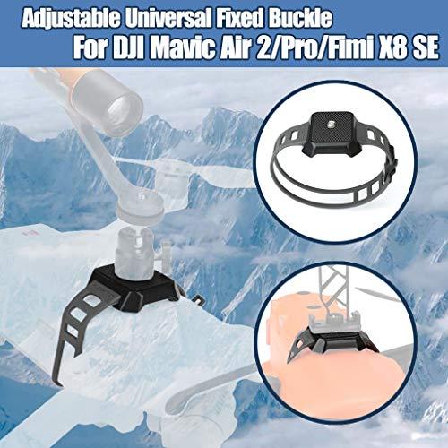 Hunpta@ Universal Schnalle Kamera Halterung Taschenlampen Schnalle Halter Drohne Erweiterungs Zubehör Kompatible mit für DJI Mavic Air 2