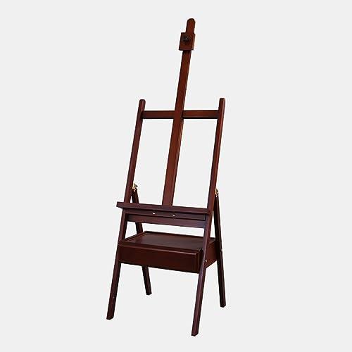 Easels A Chevalets Croquis en Bois Dessin chevalet Pliant Tiroir Pratique 4k Toile Dessin Cadre Peinture (Taille  45  45  150-190cm) chevalet Peinture (Couleur   A)