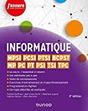 Informatique - MPSI, PCSI, PTSI, BCPST, MP, PC, PT, PSI, TSI, TPC - 2e éd. MPSI, PCSI, PTSI, BCPST, MP, PC, PT, PSI, TSI, TPC
