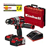 Einhell TE-CD 18 Li-i BL Power-X-Change - Taladro percutor inalámbrico 18V con...
