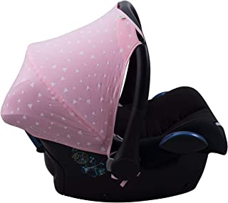 JANABEBE Capota para Maxi-Cosi Cabriofix Pink Sparkles