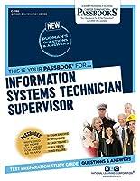 Information Systems Technician Supervisor (Career Examination)