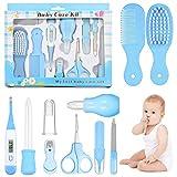 FancyWhoop Trousse de Soin Bébé 12 pcs Baby Care Kit, Portable Sécurité Kit Bébé Naissance Set pour Bébés et Jeunes Enfants