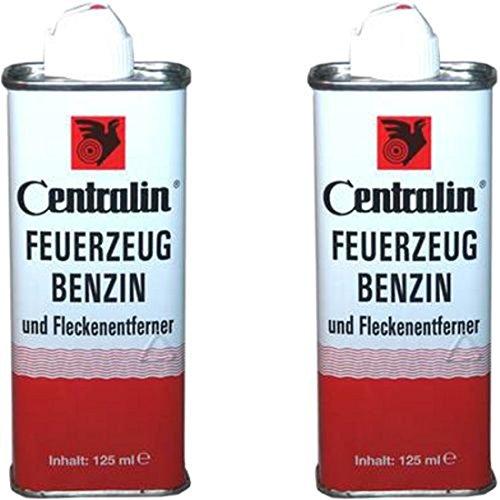 Centralin Centralin Feuerzeugbenzin, 2 x 125ml