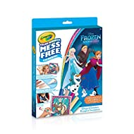 Crayola 75-2346 Color Wonder Glitter Kit, Frozen, Mess Free Colouring, Washable, No Mess, for Girls and Boys, Gift for Boys and Girls, Kids, Ages 3, 4, 5,6 and Up, Summer Travel, Cottage, Camping, on-the-go, Arts and Crafts, Gifting