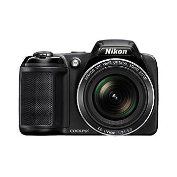 Nikon Coolpix L340 20.2 Megapixel Digital Camera With 28x Optical Zoom