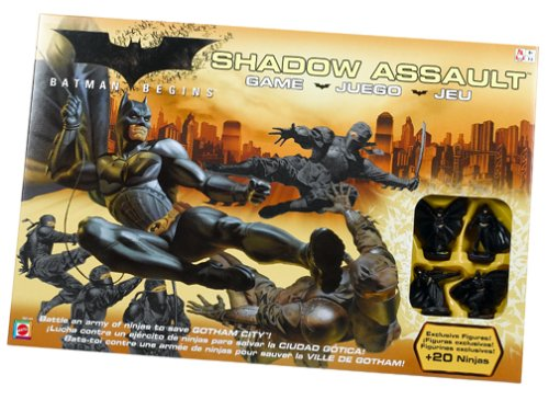 Mattel - Batman G9144 - Batman Begins Angriff der Schattenliga Brettspiel