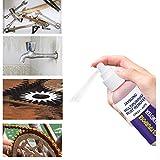 Kaiki 120ml Auto Schmiermittel Rostentferner, schmiermittel Rostlöser Logo-Reiniger Rost-Reinigungs-Spray für Werkzeug, Fahrradkette,Autopflege