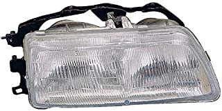 Headlight Replacement For Honda Civic Coupe/Hybrid/Sedan/Wagen Driver Left Side Lh 1990 1991 Headlamp Assembly