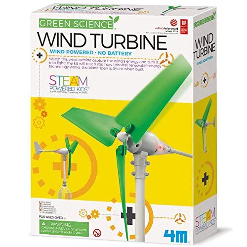 4M Wind Turbine Science Kit, Green Science