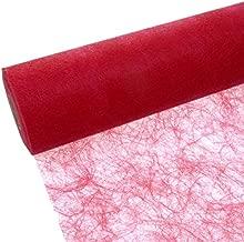 Deko AS GmbH Sizoweb Tischband pink 20 cm Rolle 25 Meter 64 019-R