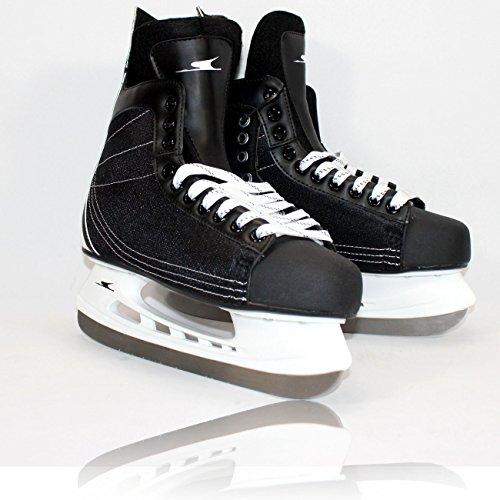 MQ Gelegenheit - Hockey Schlittschuhe Herren Gr 44 schwarz Sport Wintersport Sport Eishockey Stil