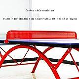 JGSDHIEU Rack De Filet De Tennis De Table Rack De Filet De Fer Extérieur SMC Table De Tennis De Table Rack De Filet en Acier Inoxydable