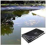 SSYBDUAN 0.2mm Bâche pour Bassin Jardin,Membrane Renforcée pour Bassin à Poissons Piscines L'aménagement Paysager Imperméable Film Bâche Bassin, 1.5m/2m/3m/4m (Color : 20S, Size : 4x5m)