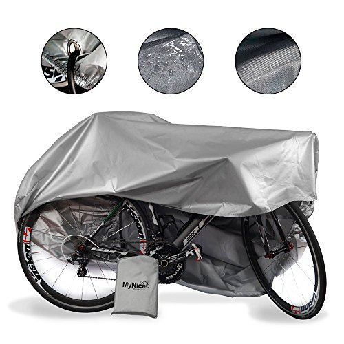 MyNiceOption Funda para bicicleta impermeable – resistente a los rayos UV...