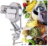 Beito Argento in Lega di Alluminio Spaghetti Pasta Maker Cavatelli Fettuccine Noodle Macchina della pressa di caffè della Cucina della casa di Cottura della Pasta Helper