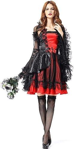 nueva marca Fashion-Cos1 Fashion-Cos1 Fashion-Cos1 mujer Mago Reina Bruja Vestido de Vampiro anfitrión de Halloween representaciones teatrales Ropa de Cosplay  100% a estrenar con calidad original.