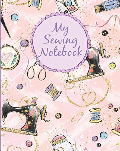 Great Price! My Sewing Notebook: Composition Notebook   College Rule and Dot Grid Interior