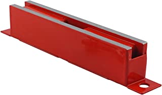 Master Magnetics LM-100BC Magnet Catch, Industrial Type with Mounting Holes Powder Coated Red, 6