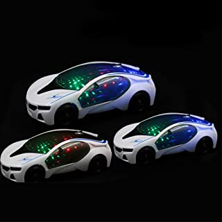 khkadiwb Toys Repair Tool&Classic ToysColorful Lights Music Electric Racing Car Plastic Model Children Kids Toy Gift Funny Kid's Gift Durable