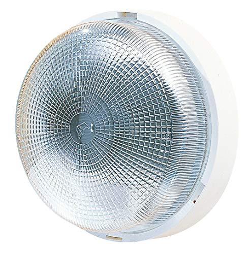 L'Ébénoïd EBE277764 - Lámpara de techo (plafón redondo, casquillo E27, 100 W)