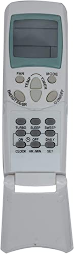 Upix® AC Remote No. 96, Compatible with Hitachi AC Remote Control - Old Remote Functions Must be Exactly Same