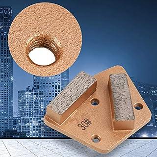 scheda nannday disco abrasivo diamantato trapezoidale smerigliatrice grana 30 (3 fori 2 denti dritti) per tutte le rettificatrici per calcestruzzo