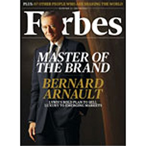 Forbes, November 08, 2010 audiobook cover art
