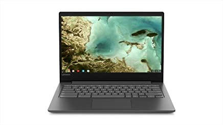 Lenovo Chromebook S330 Laptop, 14-Inch HD (1366 x 768) Display, MediaTek MT8173C Processor, 4GB OnBoard LPDDR3, 32GB eMMC SSD, Chrome OS, 81JW0001US, Black
