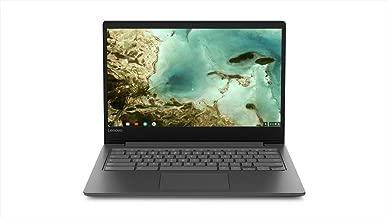 Lenovo Chromebook S330 Laptop, 14-Inch HD (1366 x 768) Display, MediaTek MT8173C Processor, 4GB OnBoard LPDDR3, 32GB eMMC SSD, Chrome OS, 81JW0001US, Black