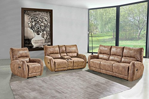 lifestyle4living Polstergarnitur, Sofa, Couchgarnitur, Sofagarnitur, Relaxsessel, Relaxcouch, Home...