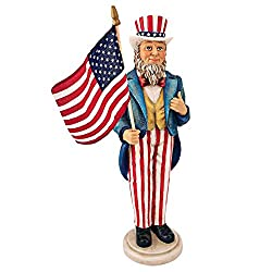Uncle Sam Yankee Doodle Dandy Statue