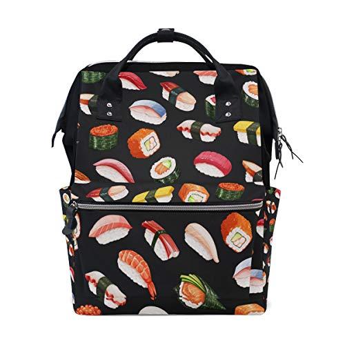 Kqwaii Colorido Pequeño gordo Sushi Bolsas de pañales de g