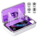 IFLOVE UV-C LED Sterilisatorbox für Mobiltelefone Große Kapazität Hocheffizient 360 °...