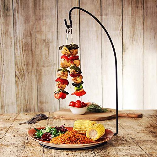 Espetada - Soporte para brochetas colgantes (24 unidades), diseño de Kebab