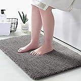 EXGOX Indoor Doormat Absorbent Water Low-Profile Mats Machine Washable Non Slip Rubber Entrance