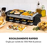 Zoom IMG-1 klarstein sirloin piastra per raclette
