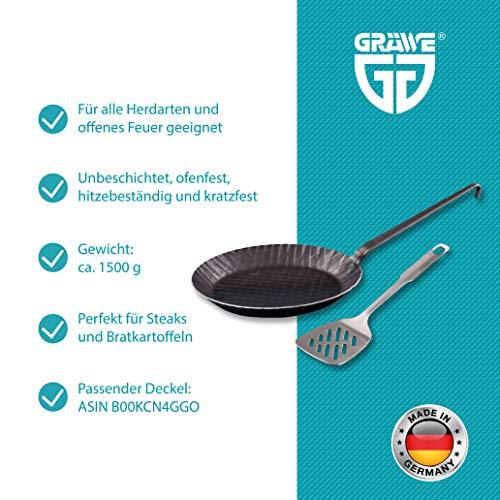 Gräwe® Profi schmiedeeiserne Bratpfanne - 2