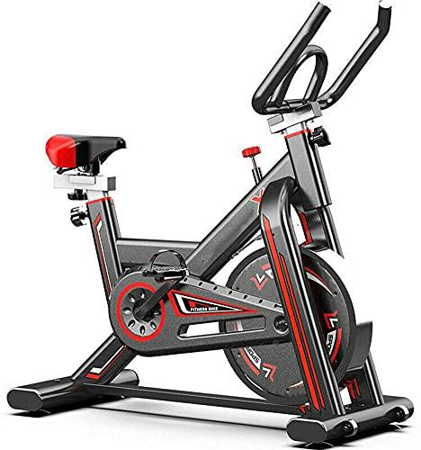 KirinSport Heimtrainer, LCD-Indoor-Bike Magnetwiderstand-Fitnessbikes, max. Benutzergewicht 150 kg